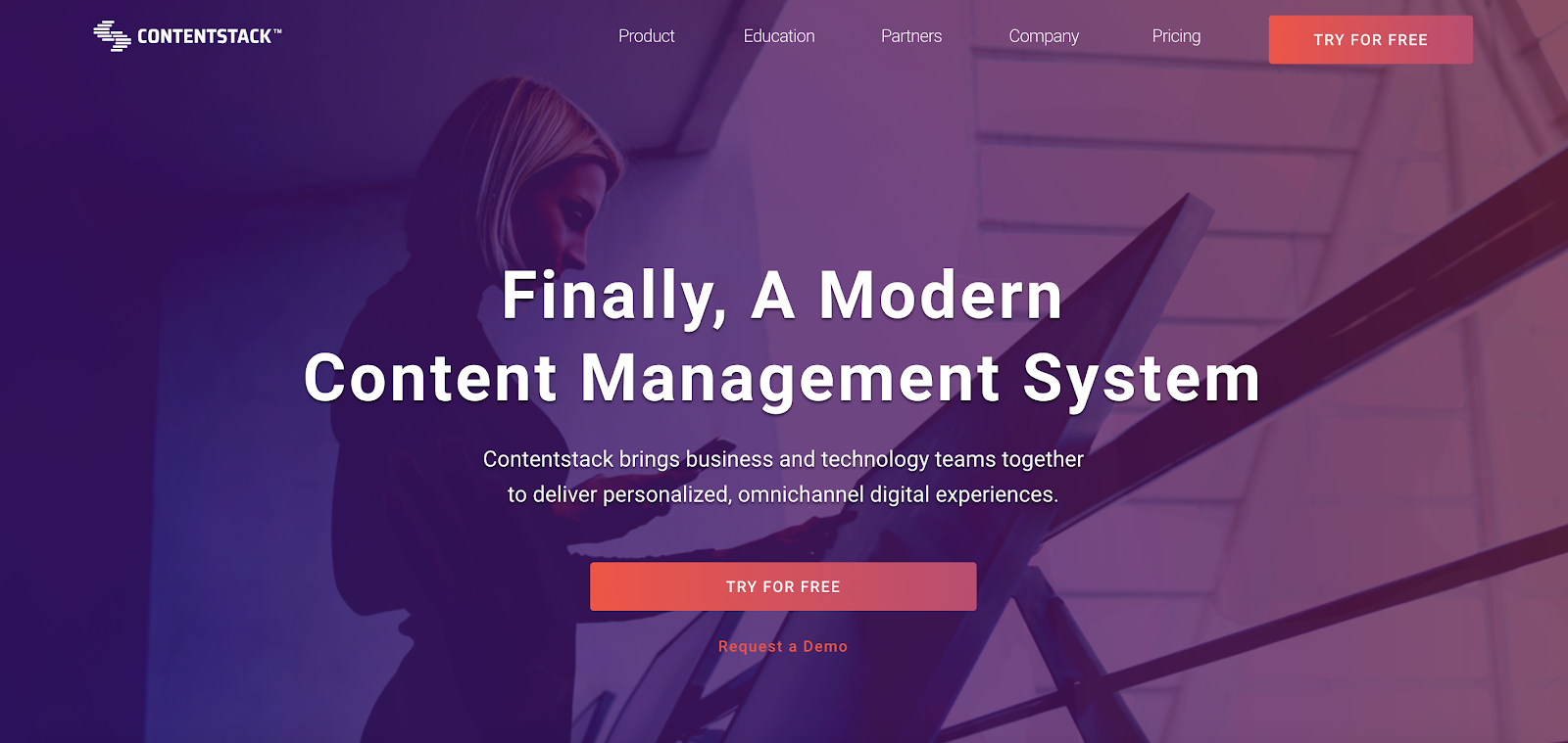 Contentstack is one of the industry-leaders in Headless CMS, and has a fantastic visual editor for the content focused team members