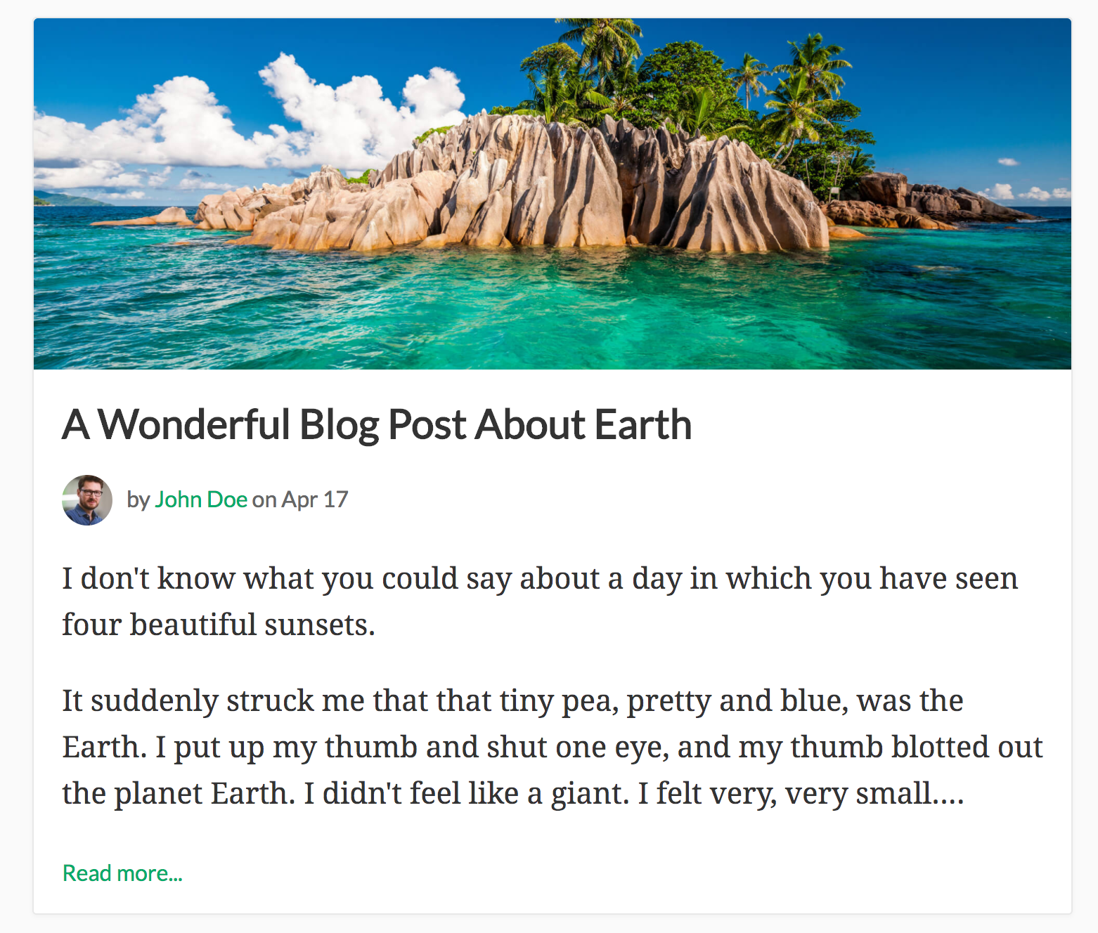 How to Build a Simple Blog Using Node js | Cosmic JS