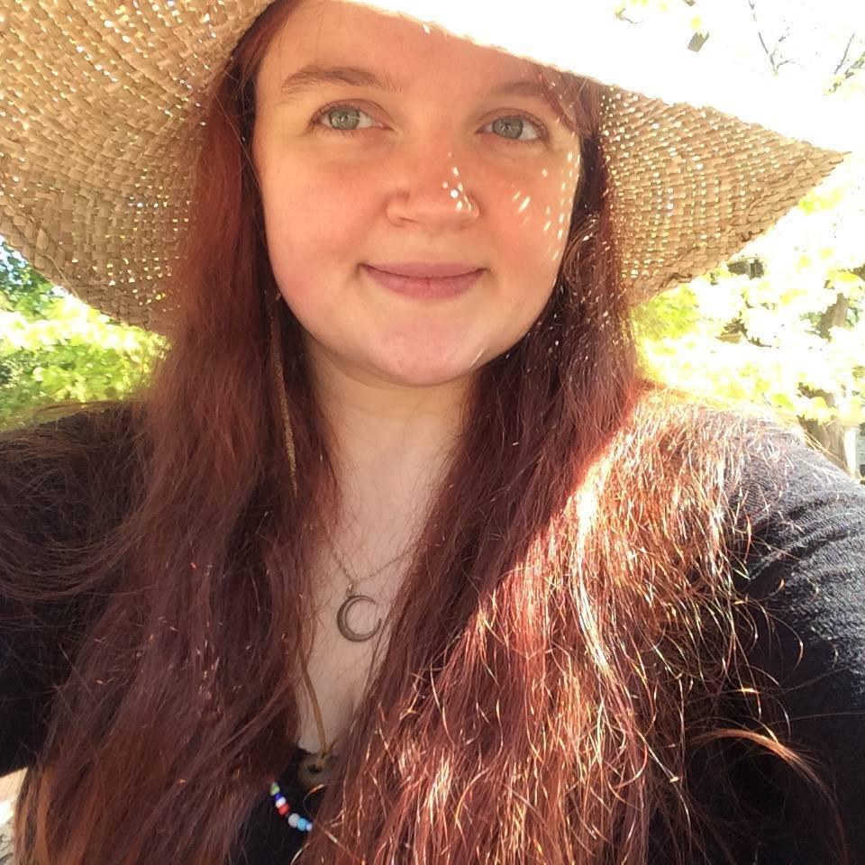 The author Katherine Peach
