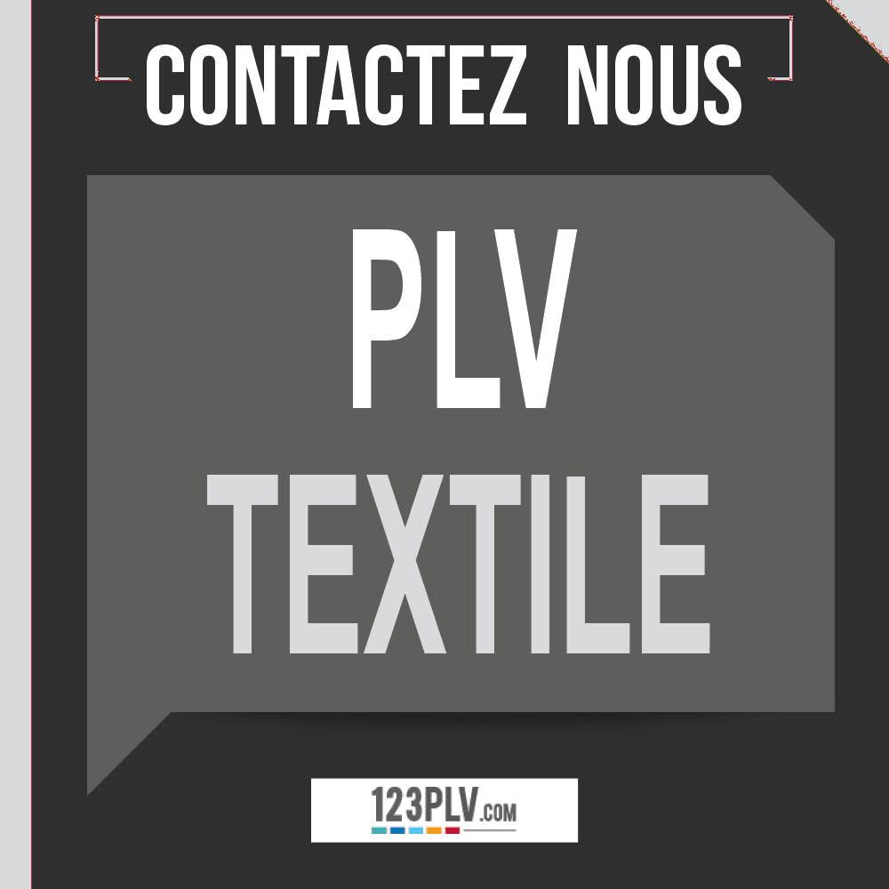 PLV textile : contactez-nous