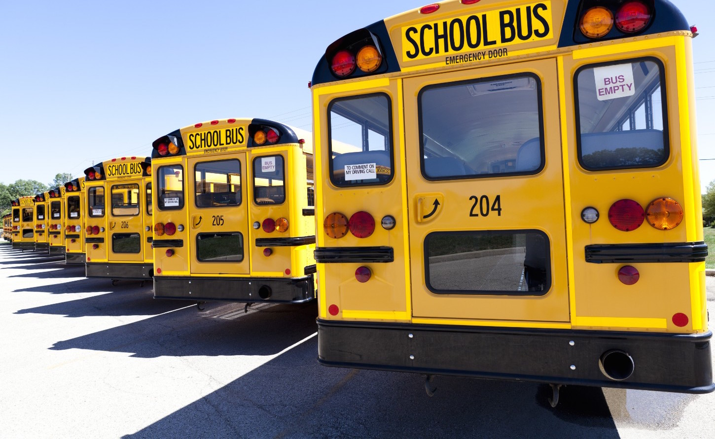 Rent a bus for a school trip