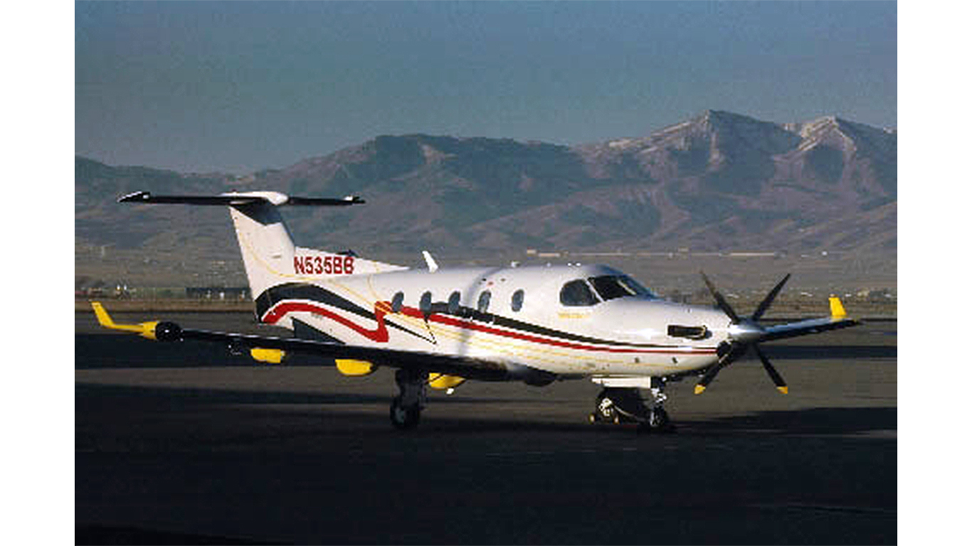 Keystone Aviation Pilatus Pc 12 Charter Aircraft