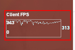 Valorant Show FPS Graph and Counter