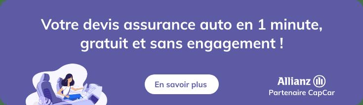 Assurez votre voiture avec notre partenaire Allianz