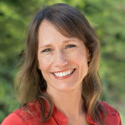 The author Kathy Fettke