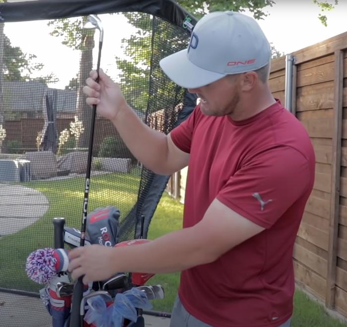 Bryson Dechambeau LA Golf Graphite Iron Shaft From Bryson Dechambeau YouTube