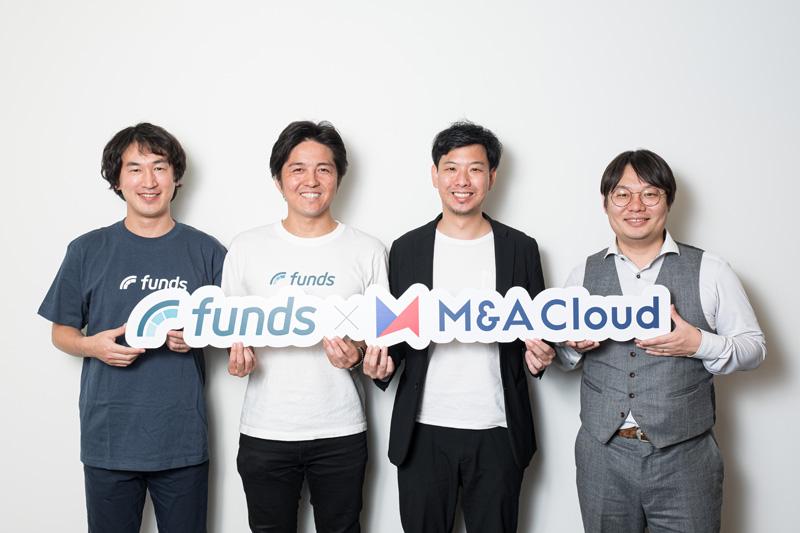 貸付投資の「Funds」、M&Aクラウドと業務提携