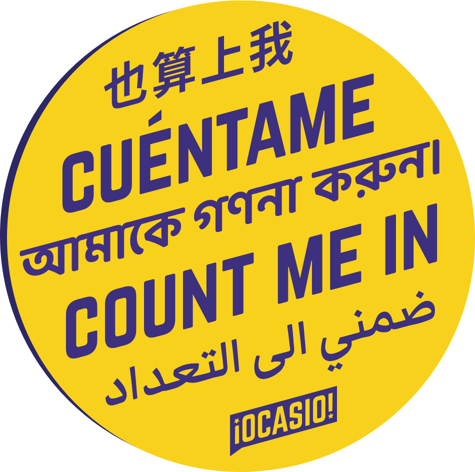 'Count Me In' in five languages