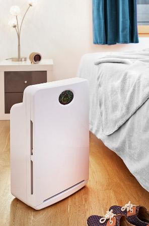 Purificateur d'air AIR ET SANTE A&S 100 Eco dans chambre