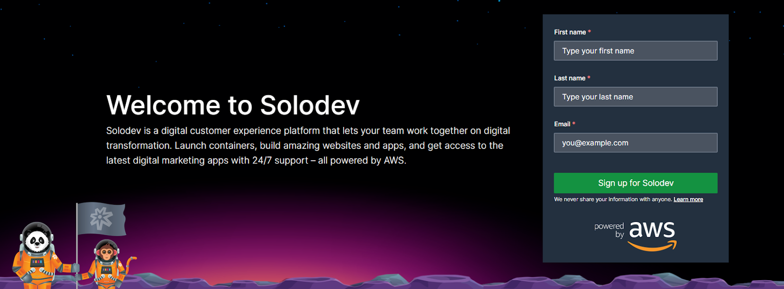 Solodev is a cloud-based Headless CMS that enables teams to work together, deploy quickly, and offers 24/7 support.
