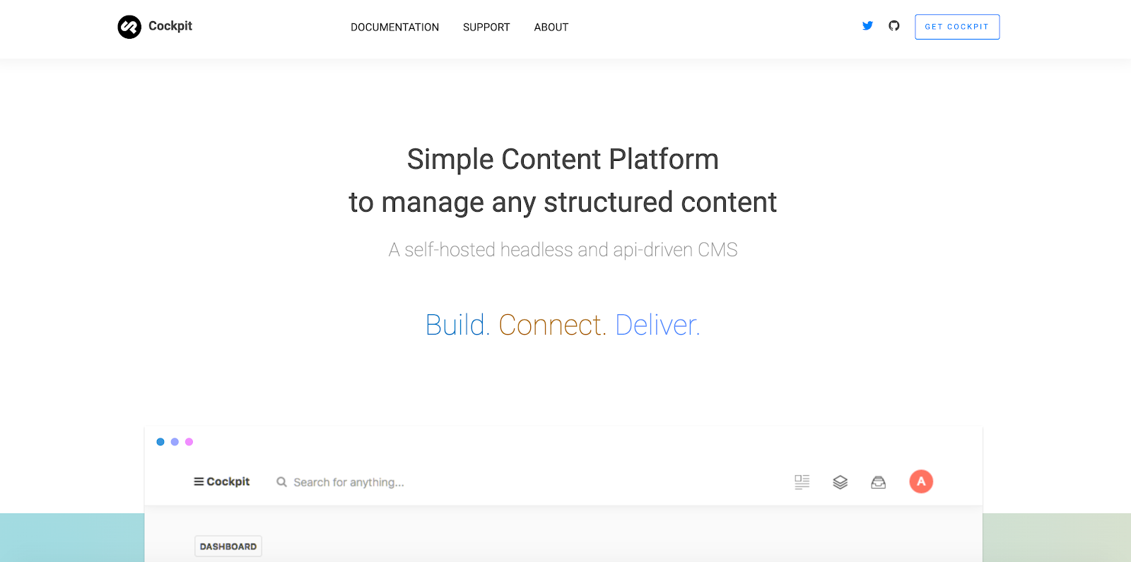 Coming in 13th is the API-first Cockpit CMS, free to download and simple to use