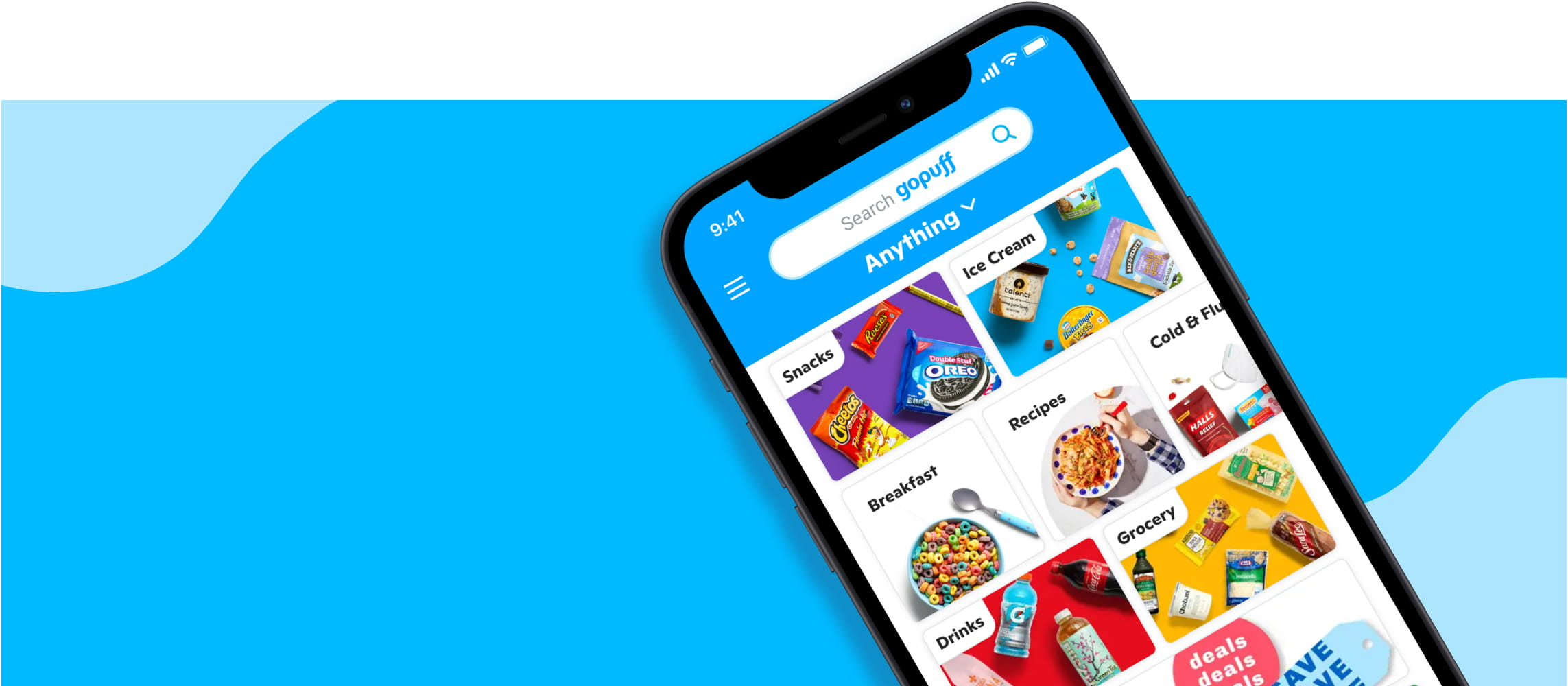 GoPuff is an odd job app that pays you to deliver snacks