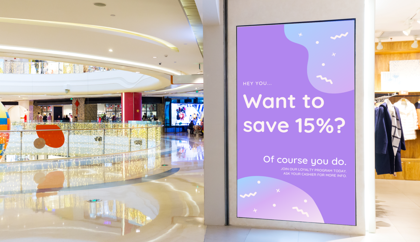 content marketing with digital signage