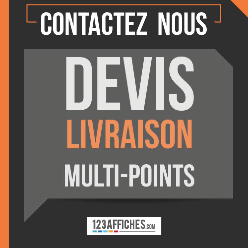 Livraison multi-sites : contactez-nous