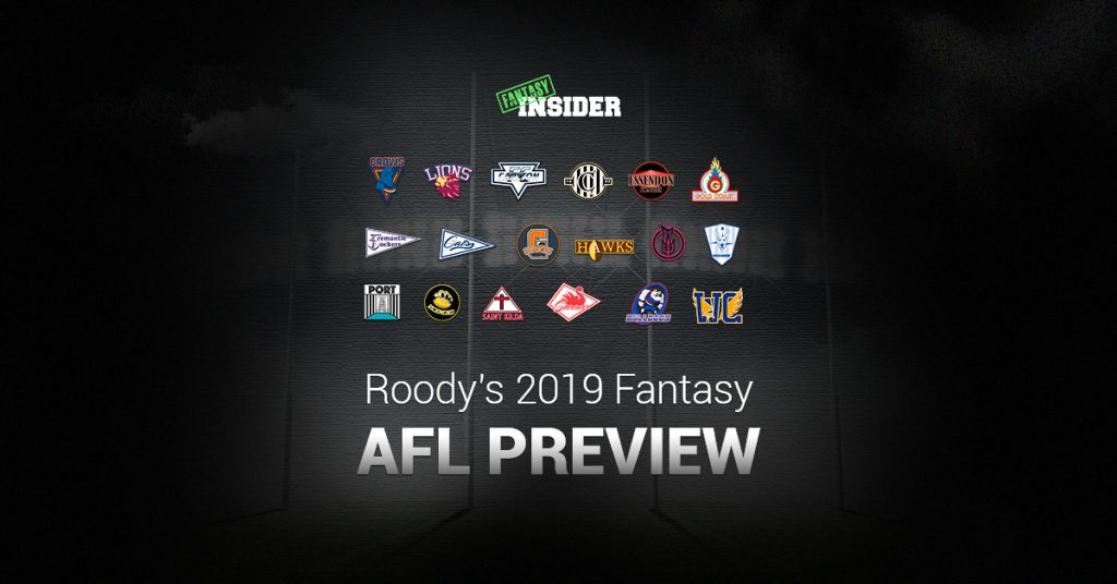 Roody's 2019 AFL DFS Preview | Fantasy Insider