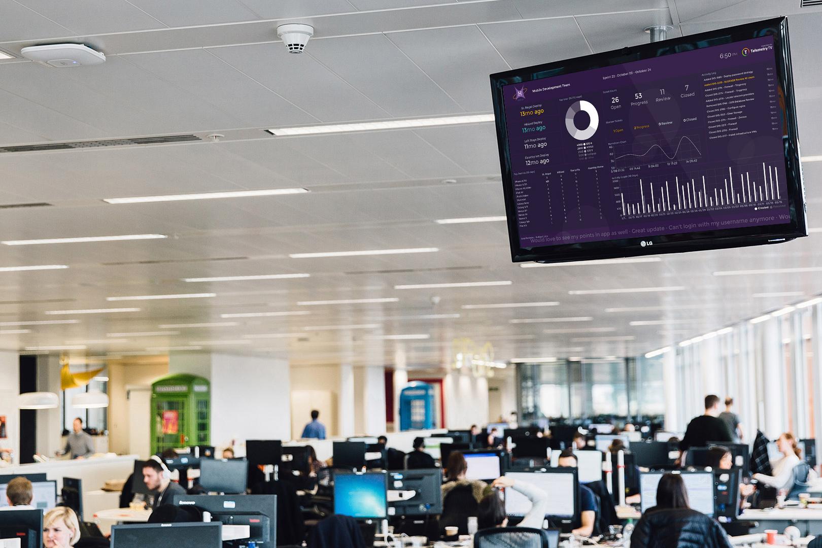 Streaming Digital Signage Boards At Enterprise Scale
