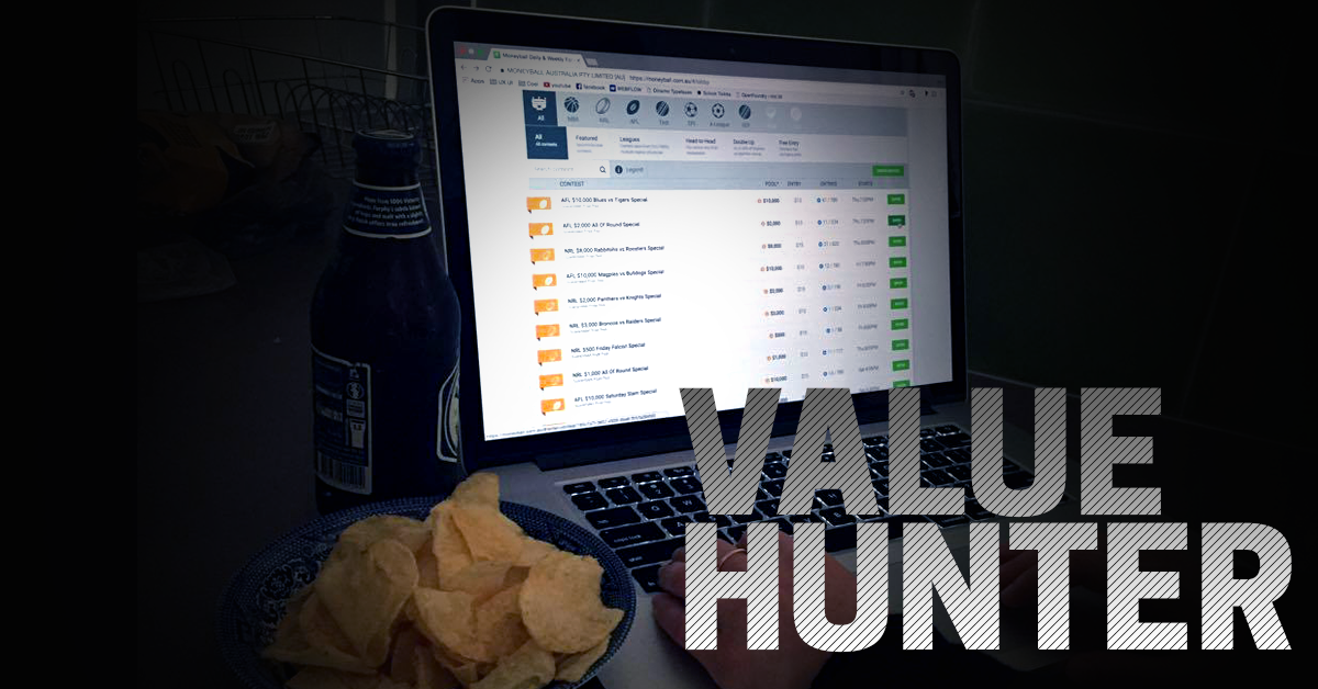 The Value Hunter: Round 7 – Saturday Slate | Fantasy Insider