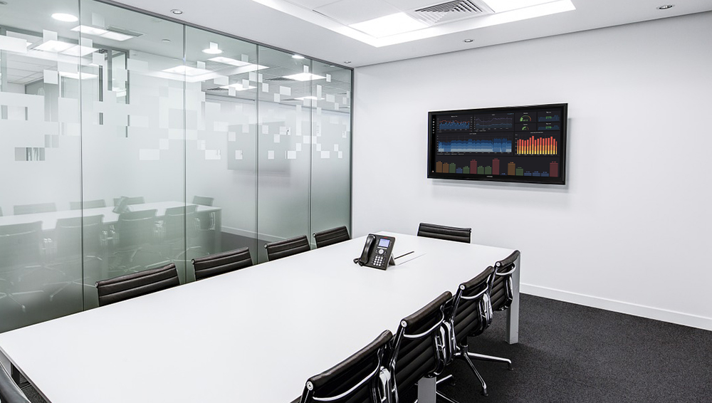meeting room digital signage