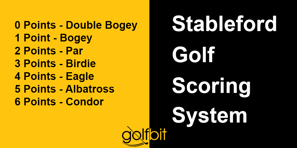 Stableford Golf Scoring System | Golf Formats Explained