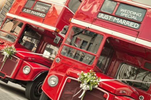 Bus for weddings