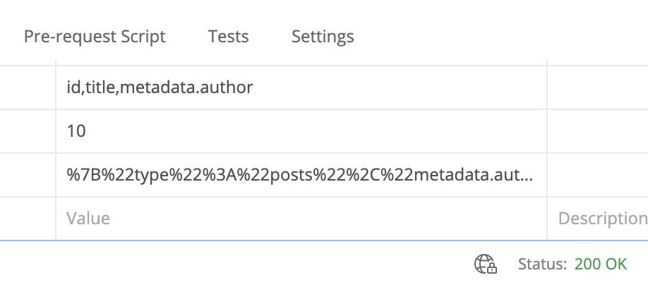 Encode Query Screenshot 3