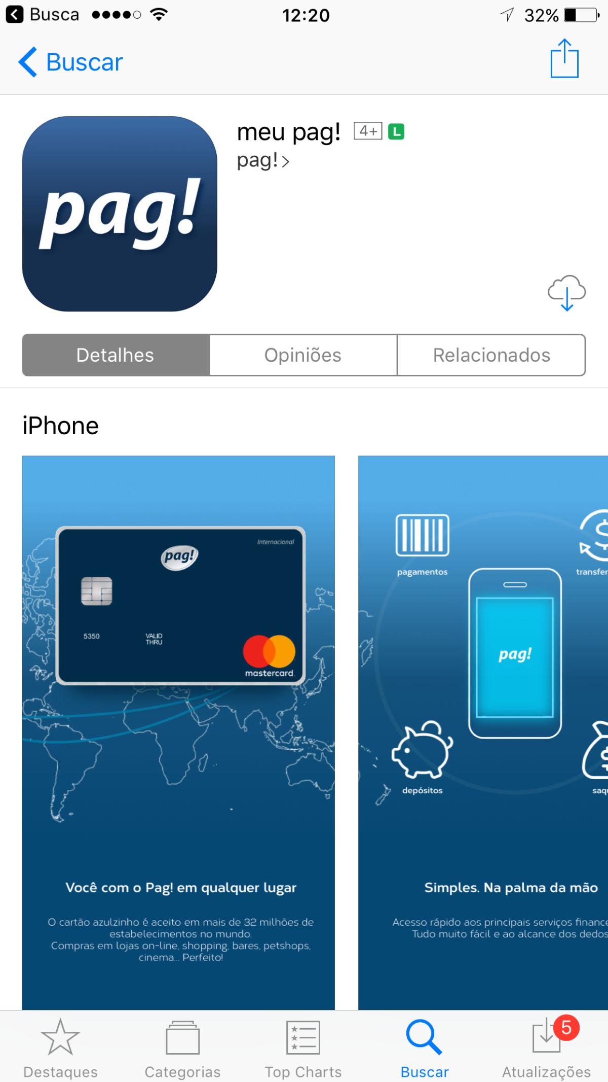 Cover Image for meupag! app