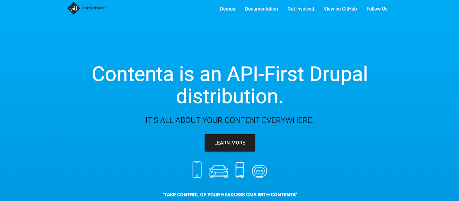 Contenta is a Drupal-focused CMS and API-first platform
