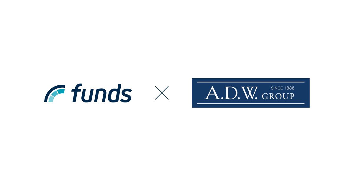 貸付投資のFundsがADワークスグループ(東証一部上場)と新ファンド公開に向けて取り組みを開始