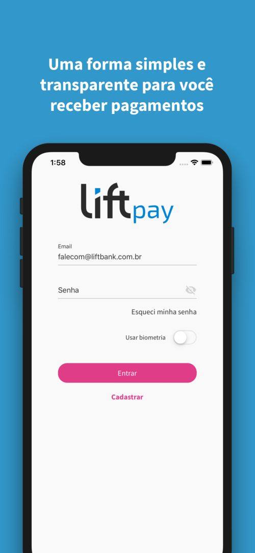 Cover Image for App LiftPay - React Native