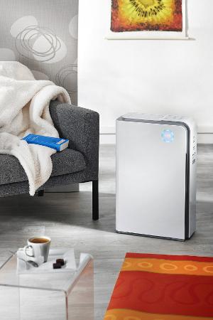 Premium air purifier AIR ET SANTE A&S 300 for living rooms