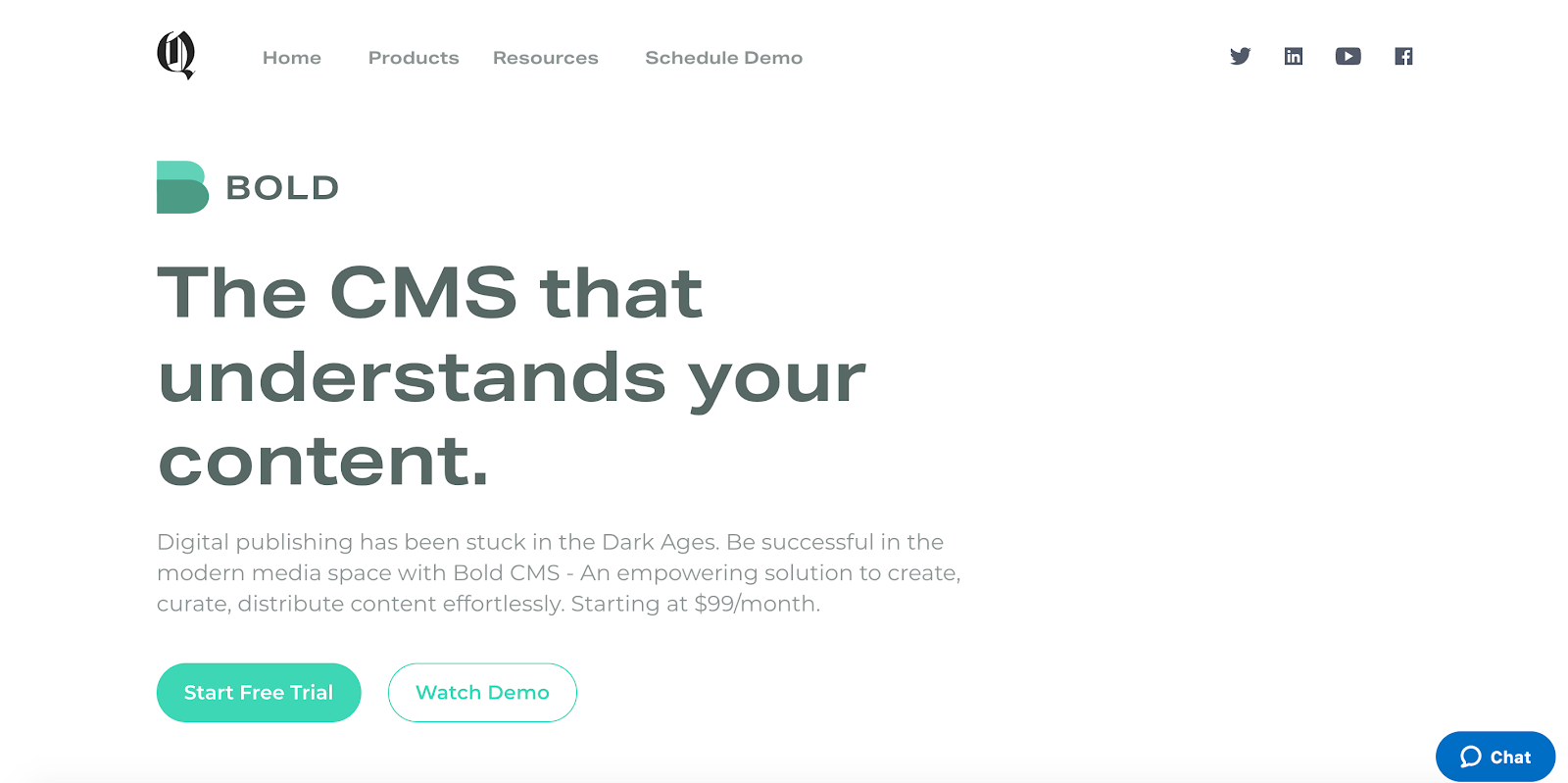 Bold CMS is a machine learning CMS based in Bangalore, India