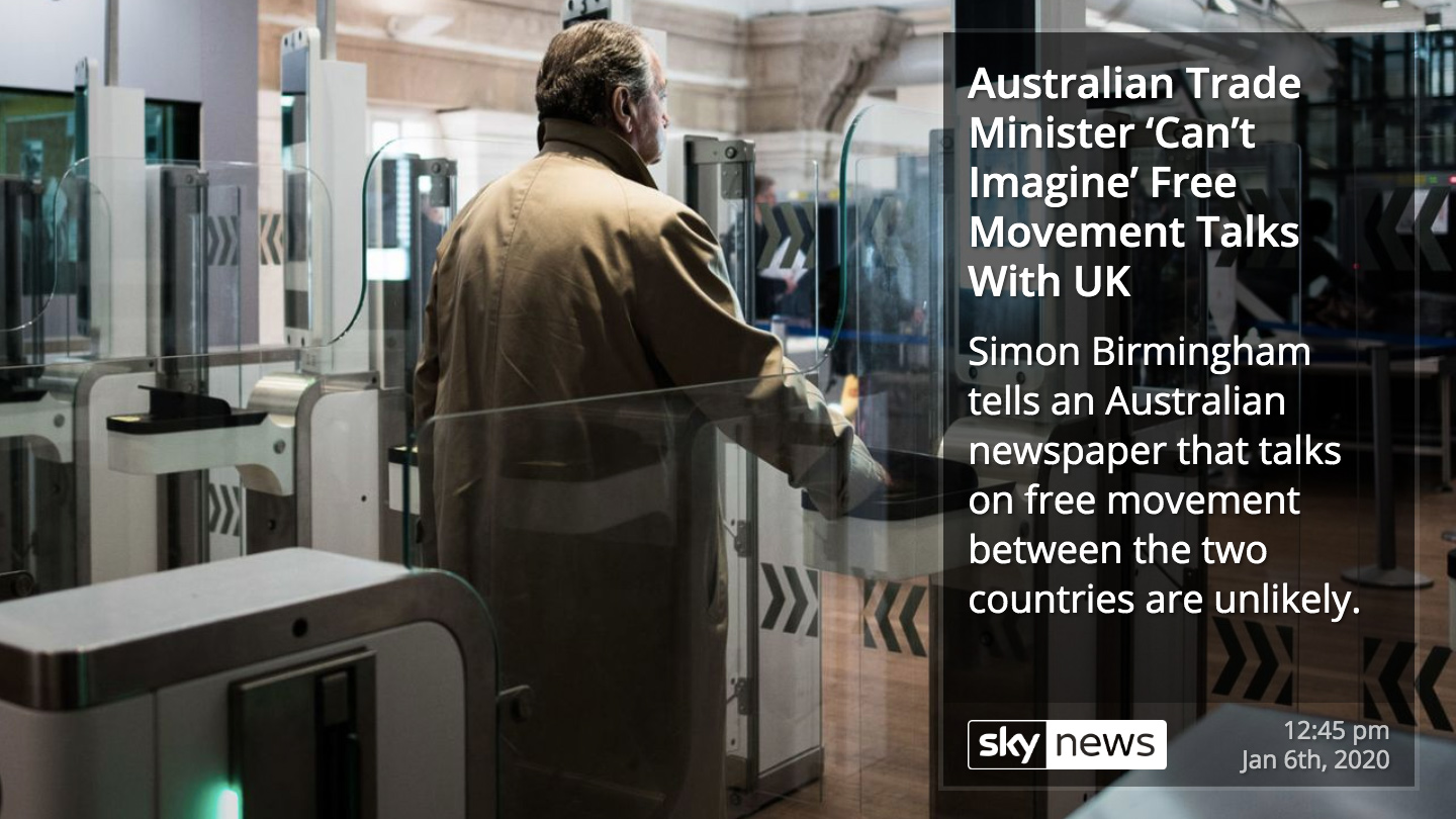 Sky News RSS for Digital Signage carousel 1