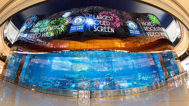 worlds largest video wall